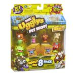 The Ugglys Pet Shop 8 FIGURE PACK - Series 1 - NEW